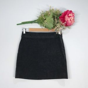 Banana Republic | Grey Corduroy Mini Skirt SZ 2P